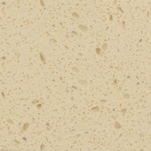 Quartz Crystal Single Colour Series Butter Almond